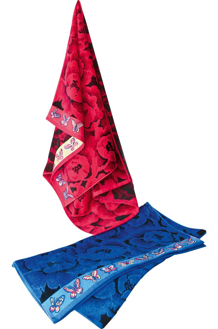 Махровое полотенце Бабочка-велюрДля всей семьи<br><br><br>Размер: 40x80