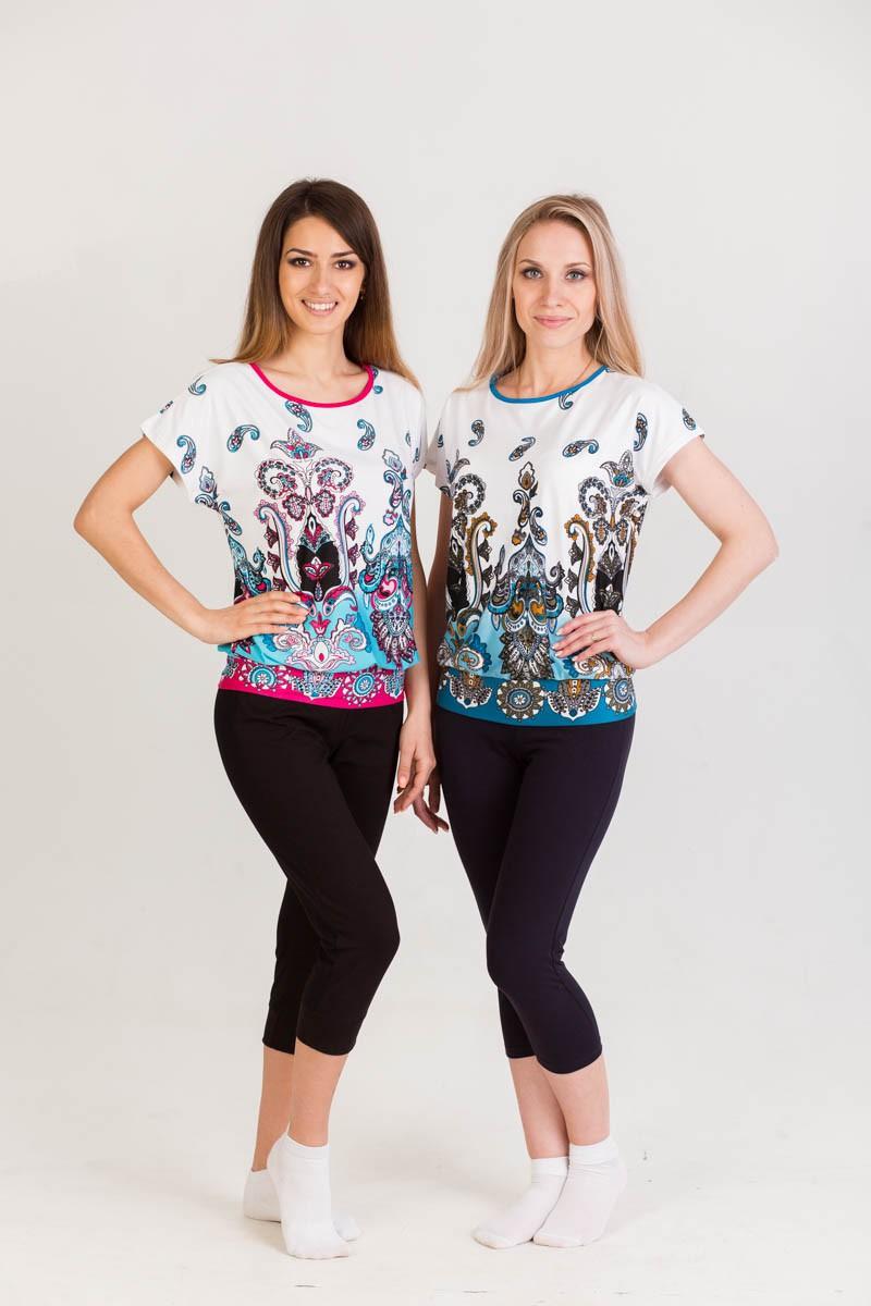 Блуза ОлесяТуники, рубашки и блузы<br><br><br>Размер: Розовая