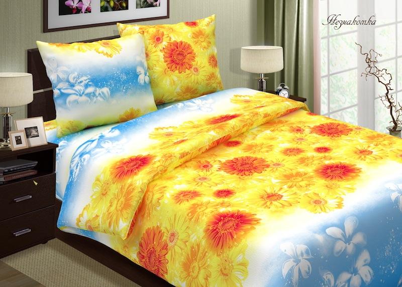 Комплект постельного белья НезнакомкаПоплин<br><br><br>Размер: 1,5-спальный