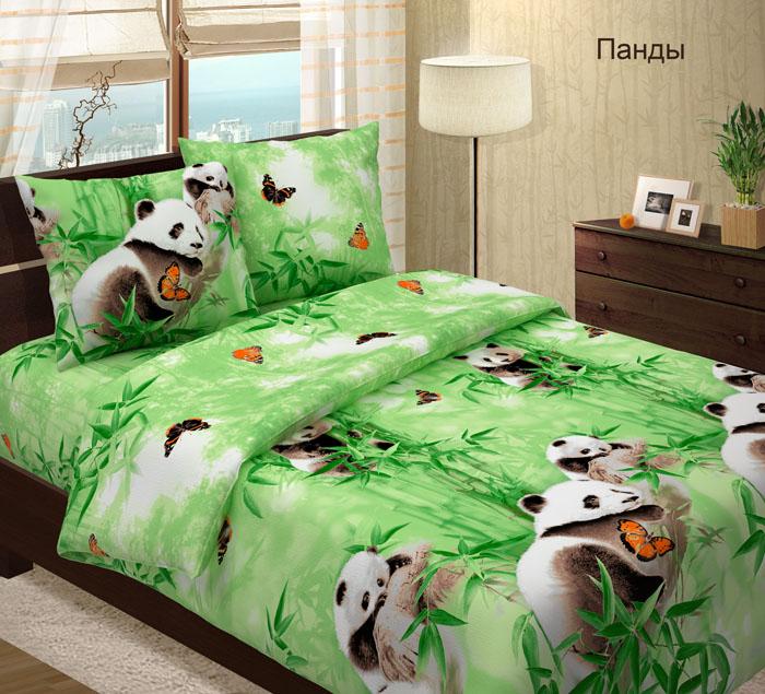 Комплект постельного белья ПандыБязь<br><br><br>Размер: Семейный