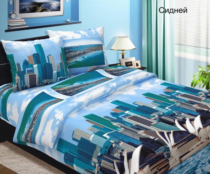 Комплект постельного белья СиднейБязь<br><br><br>Размер: Евростандарт