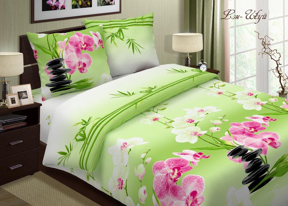 Комплект постельного белья Фэн-шуйБязь<br><br><br>Размер: 2 спальный