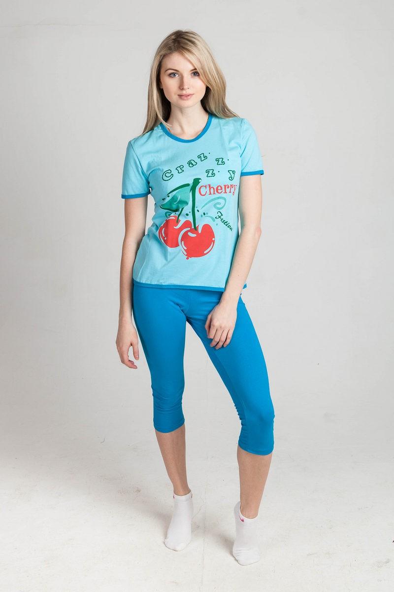 Бриджи женские ВишняШорты, брюки для дома<br><br><br>Размер: оранжевый