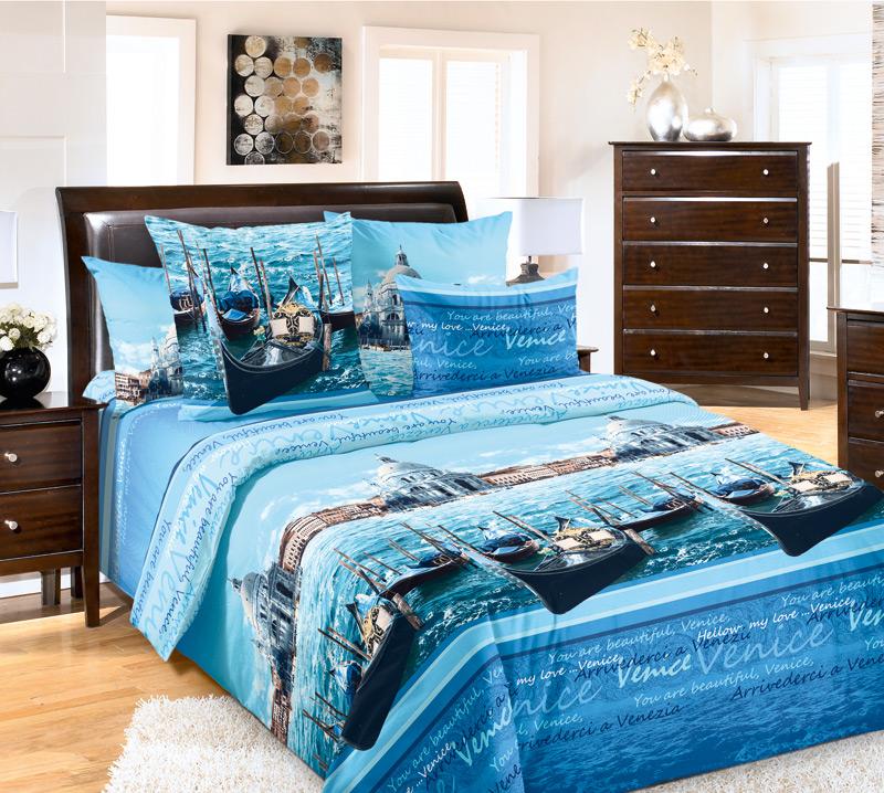 Комплект постельного белья ВенецияБязь<br><br><br>Размер: Евростандарт (2 нав.70х70)