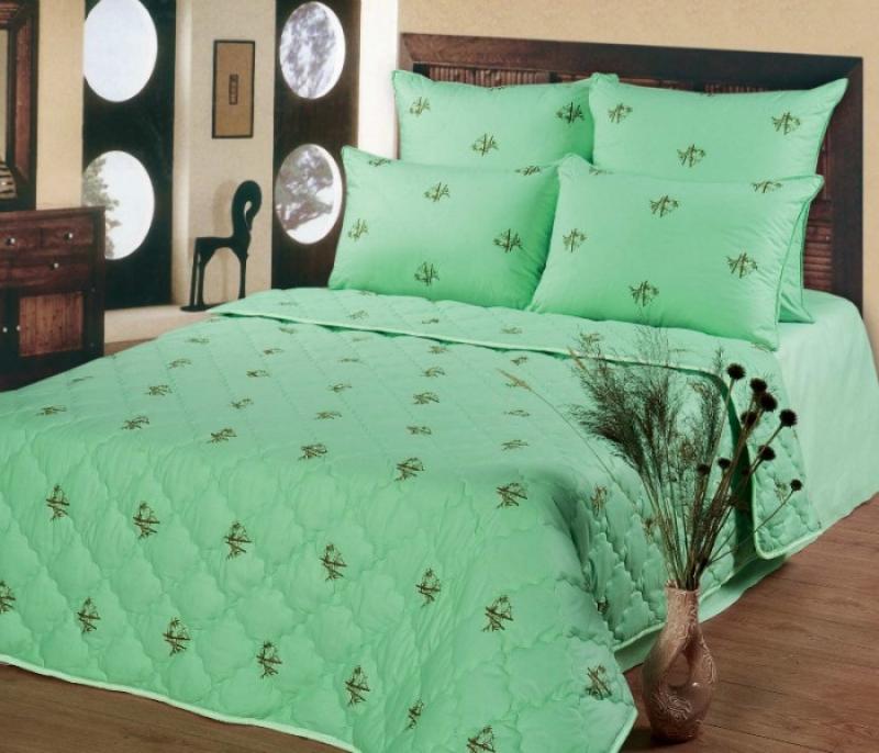 Одеяло Бамбуковое волокно облегченное (в полиэстере)Одеяла облегченные<br><br><br>Размер: Евростандарт