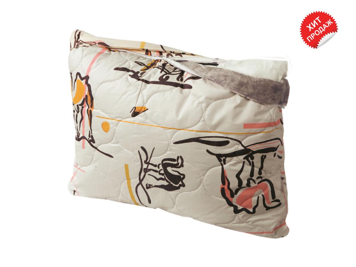 Подушка Верблюжья шерсть (в тике)Детские одеяла и подушки<br><br><br>Размер: 70х70