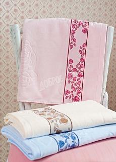 Полотенце Роза новая<br><br>Размер: Розовый