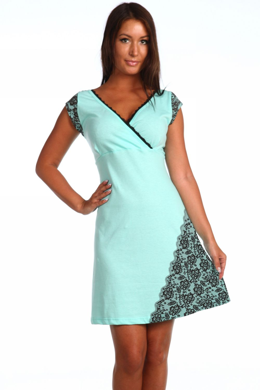 Ночная сорочка ЦарицаСорочки<br><br><br>Размер: 48