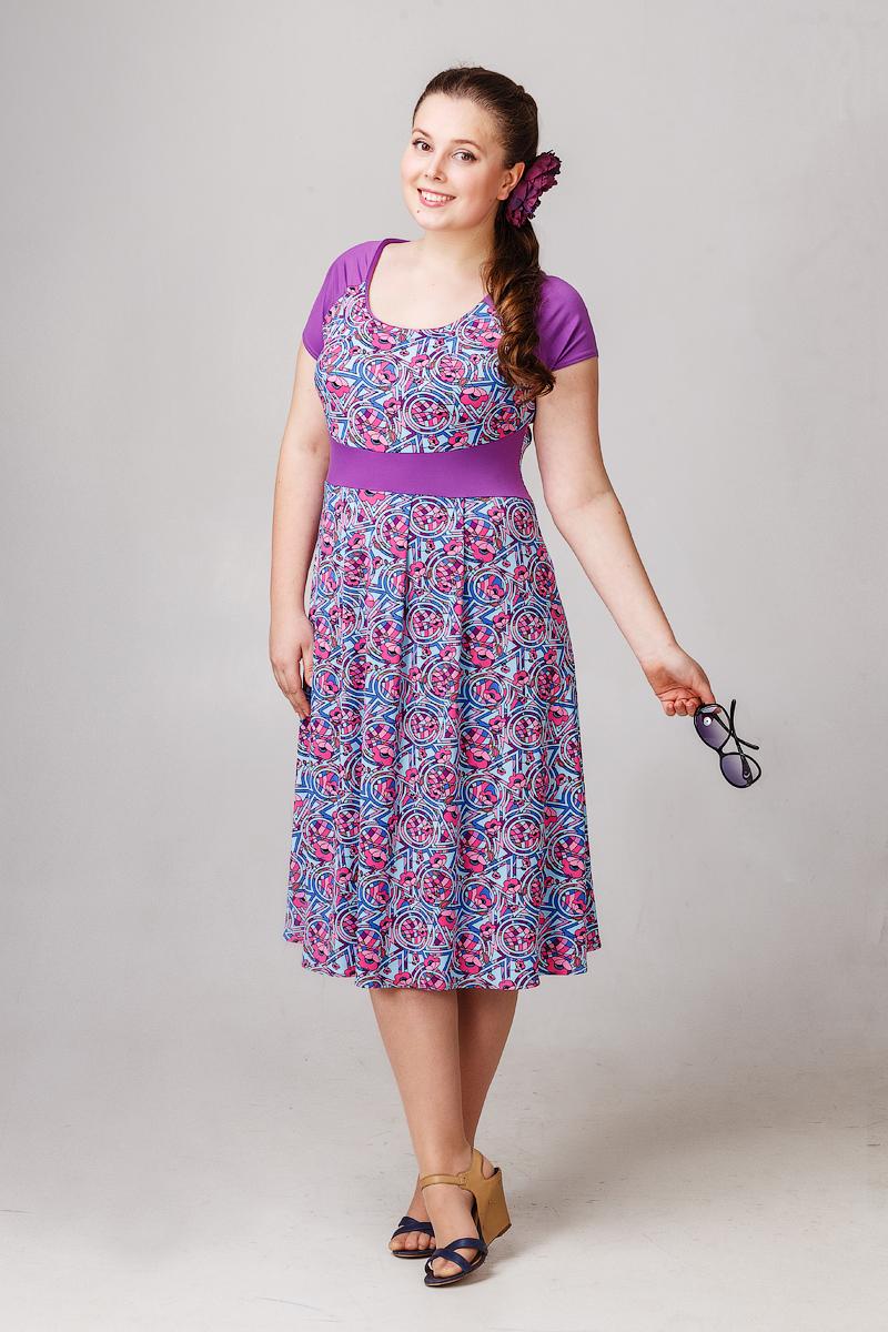 Платье Изумрудный цветокПлатья<br><br><br>Размер: 52