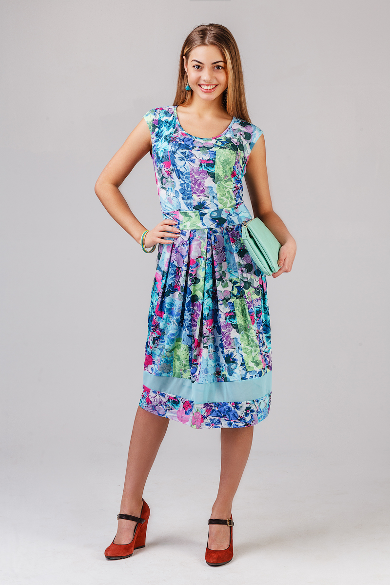 Платье НовэллаПлатья<br><br><br>Размер: 46