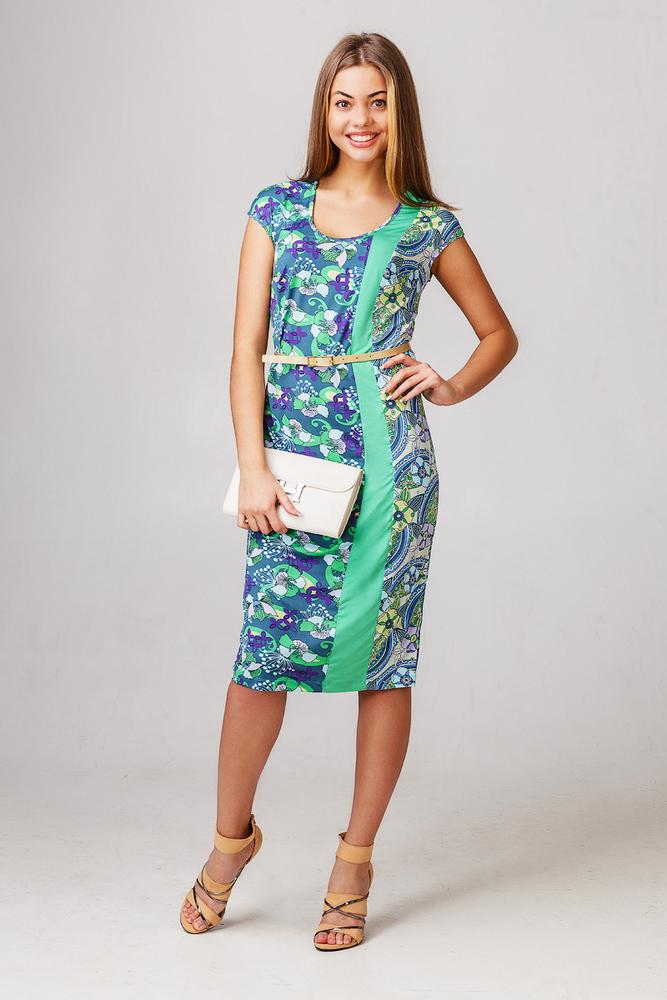Платье Весенний шармПлатья<br><br><br>Размер: 44