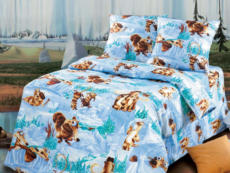 Комплект детского постельного белья БелкаДетское постельное белье<br><br><br>Размер: Детский (120х125)