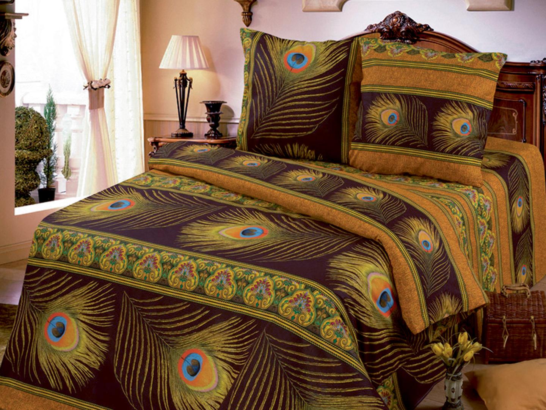Комплект постельного белья Жар-птица<br><br>Размер: 1.5сп (2 нав.50х70)