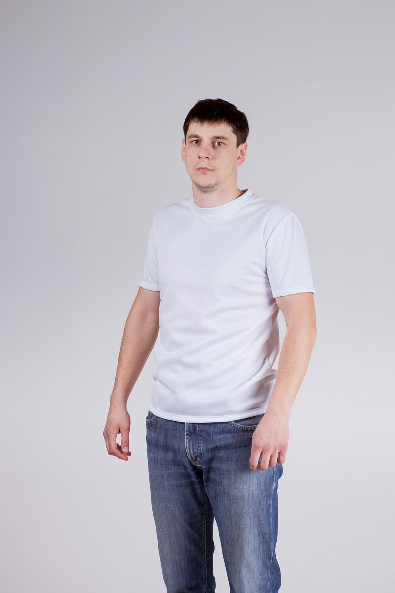 Футболка белая мужскаяФутболки<br><br><br>Размер: 52