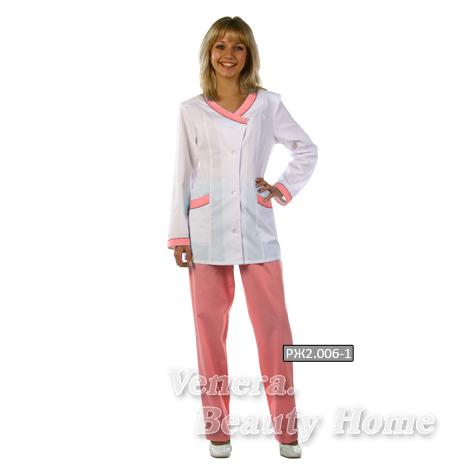 Костюм медицинский женскийКостюмы, кофты, брюки<br><br><br>Размер: 46