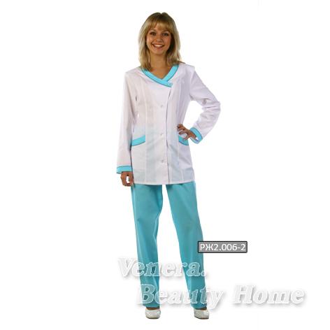 Костюм медицинский женскийКостюмы, кофты, брюки<br><br><br>Размер: 56