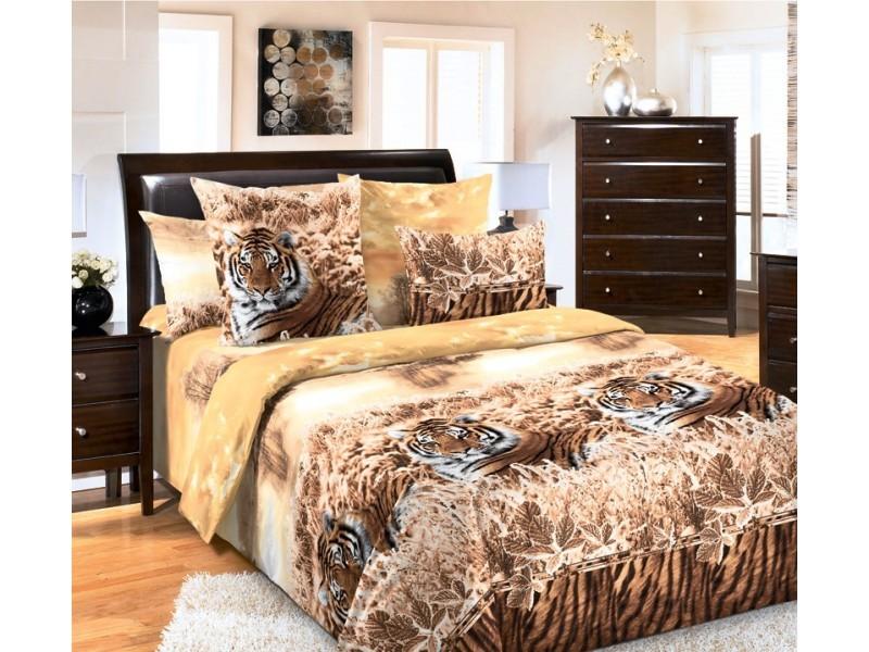 Комплект постельного белья ХранительБязь<br><br><br>Размер: 2сп с европростыней (2 нав.70х70)