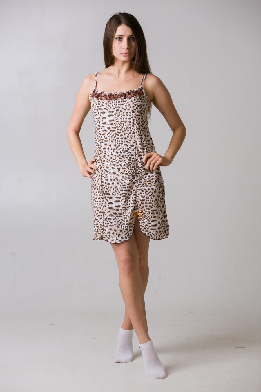 Ночная сорочка КлеопатраДомашняя одежда<br><br><br>Размер: Голубой