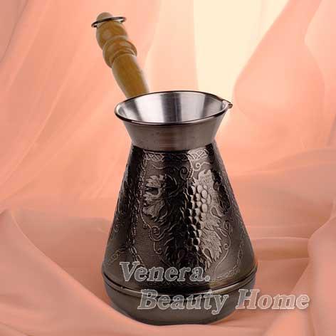 Турка медная ВиноградАксессуары для кофе<br><br><br>Размер: 200