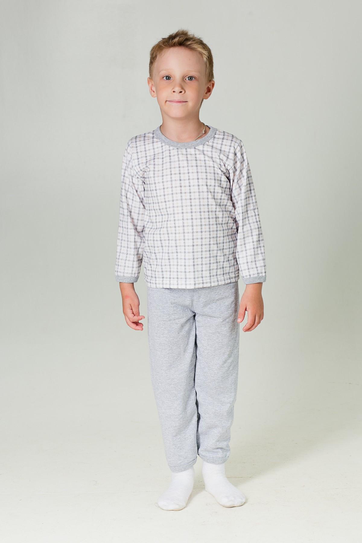 Пижама детская КлеткаХалаты и пижамы<br><br><br>Размер: 110