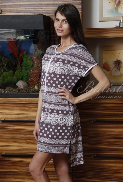 Туника женская ЛарисаТуники, рубашки и блузы<br><br><br>Размер: 46