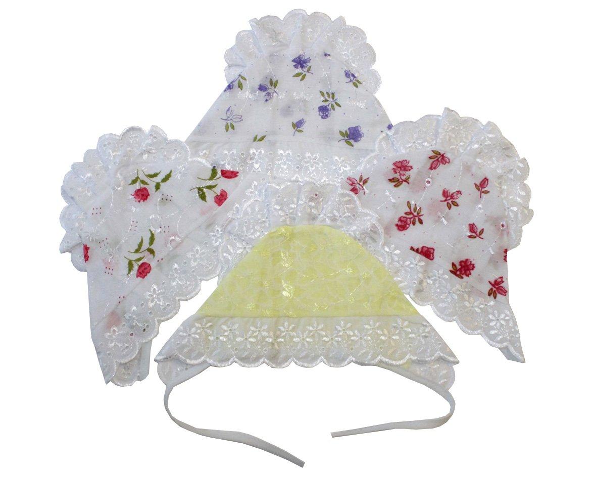 Чепчик детский НеженкаЧепчики, шапочки<br><br><br>Размер: Бордовые цветы