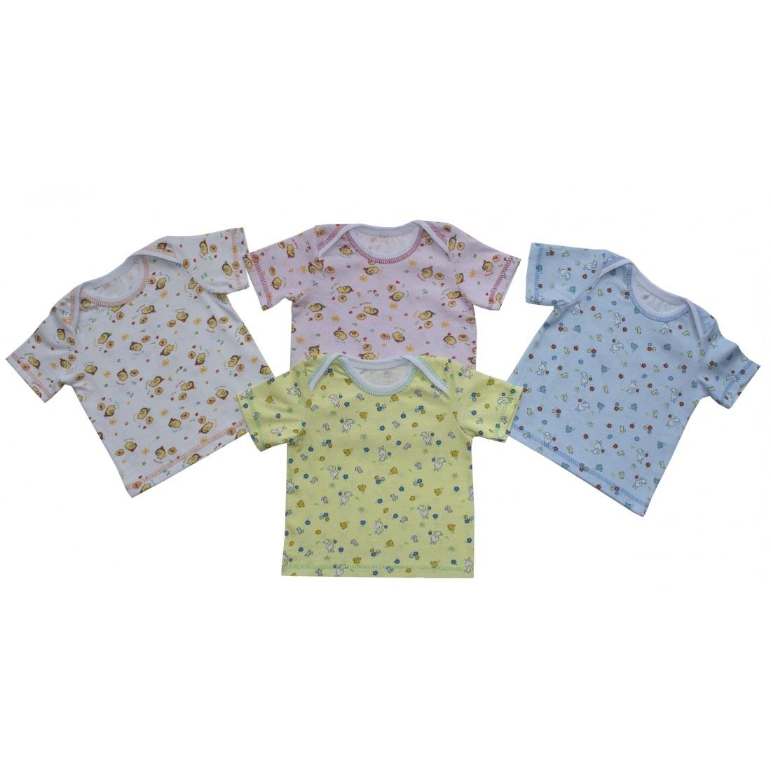 Фуфайка (футболка) детская ТоптыжкаМайки и футболки<br><br><br>Размер: Голубой