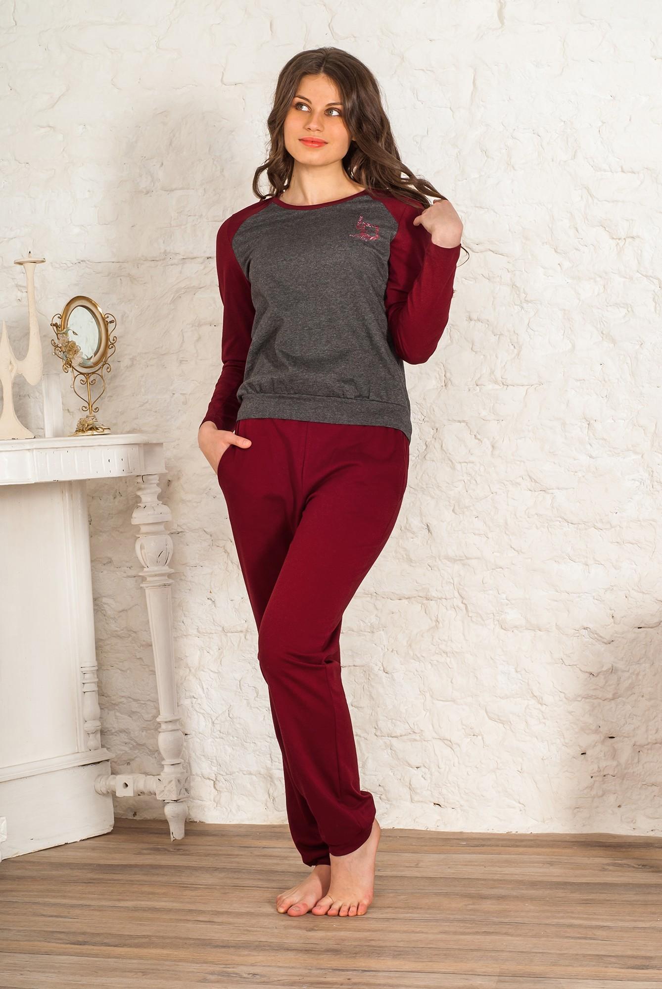 Костюм женский Карде пуловер и брюкиКоллекция ОСЕНЬ-ЗИМА<br><br><br>Размер: 44