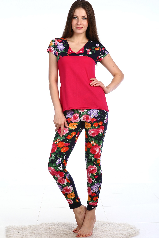 Костюм женский Фиона блуза и брюкиКоллекция ОСЕНЬ-ЗИМА<br><br><br>Размер: 48