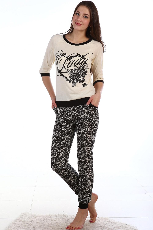 Костюм женский Вихрь блуза и брюкиКоллекция ОСЕНЬ-ЗИМА<br><br><br>Размер: 48
