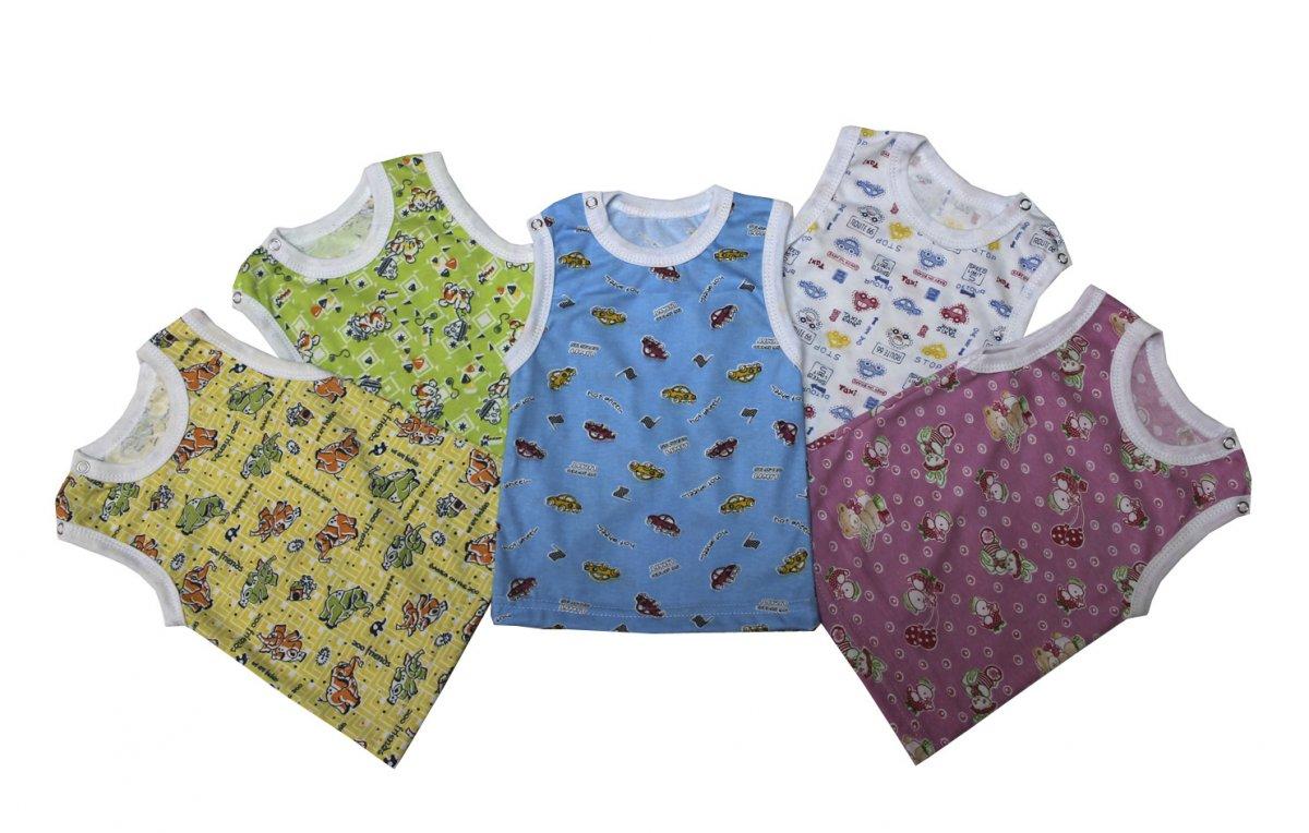 Майка детская Яселька на кнопкахМайки и футболки<br><br><br>Размер: Сиреневый