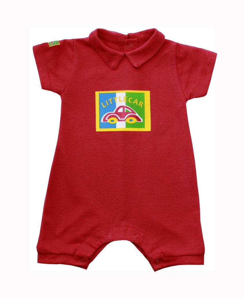 Песочник детский Гонщик с отложным воротникомБоди и песочники<br><br><br>Размер: Рост 74 (размер 24)