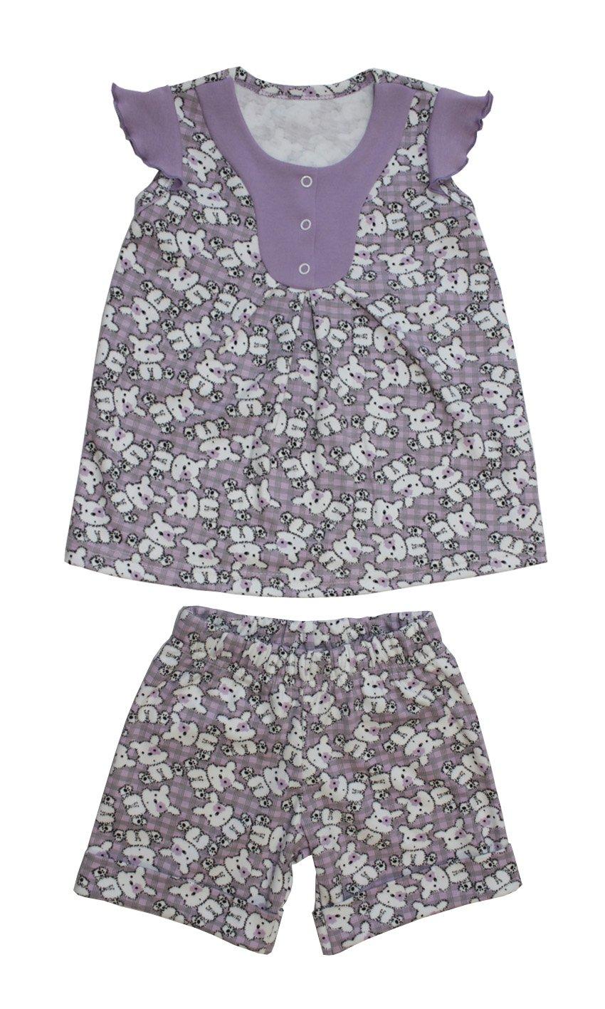 Пижама детская Лидочка для девочкиХалаты и пижамы<br><br><br>Размер: Рост 98 (размер 32)