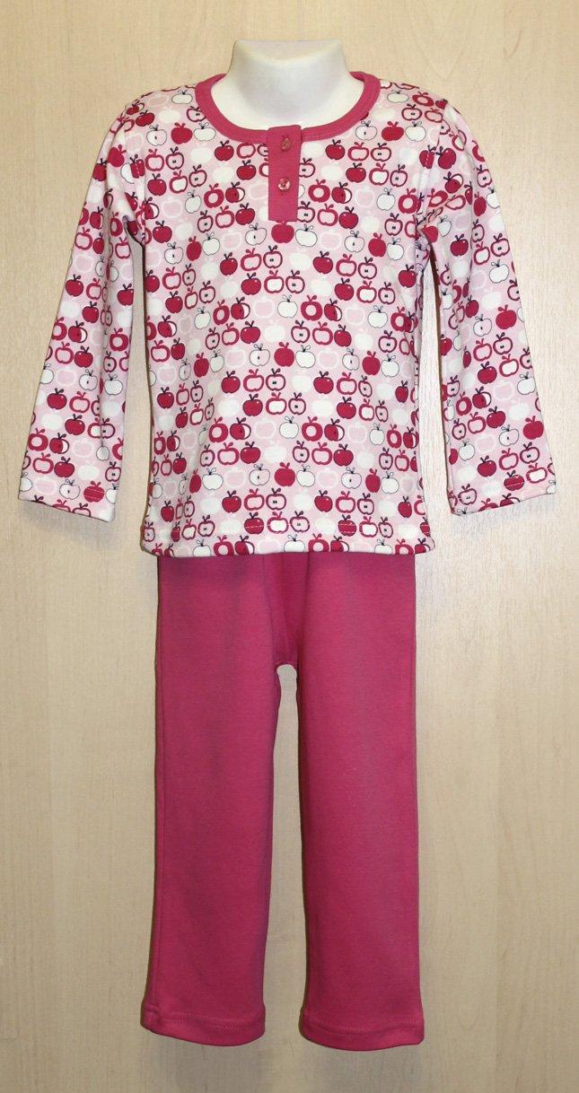 Пижама детская Сладкая ягодка для девочкиХалаты и пижамы<br><br><br>Размер: Малиновый
