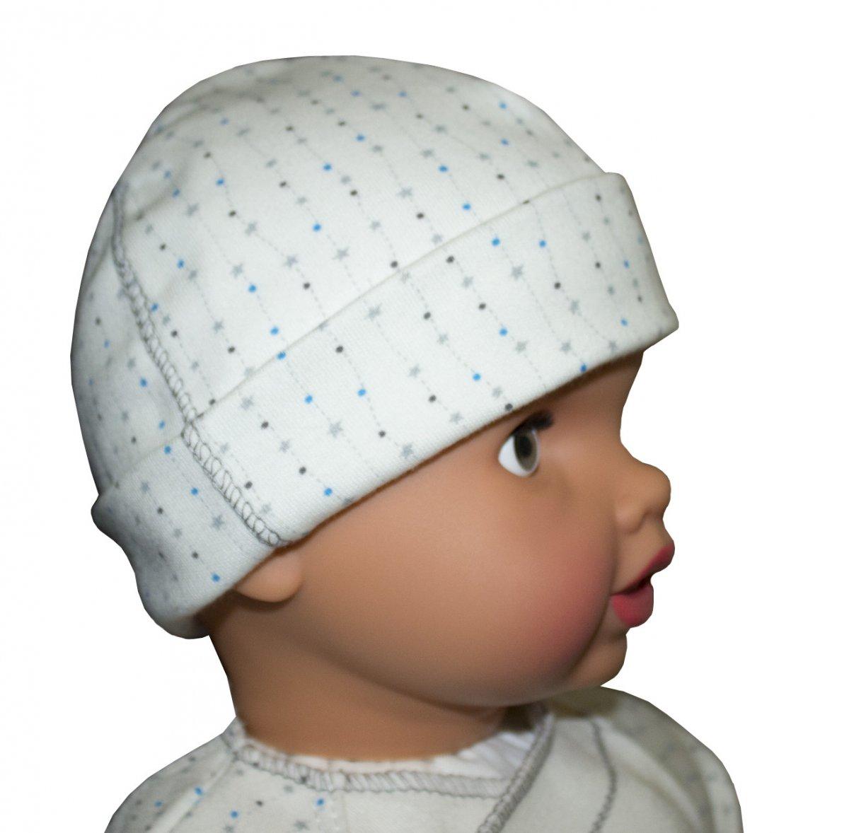 Шапочка детская МалюткаЧепчики, шапочки<br><br><br>Размер: 38
