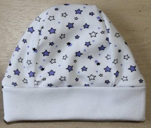 Шапочка детская ЗвездыЧепчики, шапочки<br><br><br>Размер: 40