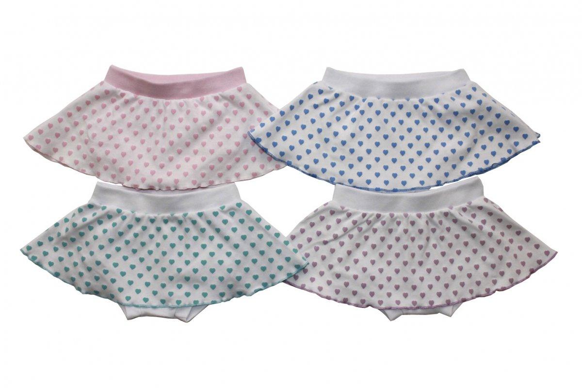 Трусы на памперс Лаура для девочкиШтанишки, шорты<br><br><br>Размер: Фиолетовый