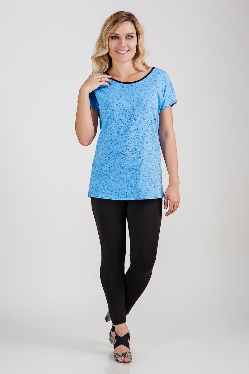 Туника женская Полли с коротким рукавомТуники, рубашки и блузы<br><br><br>Размер: 48