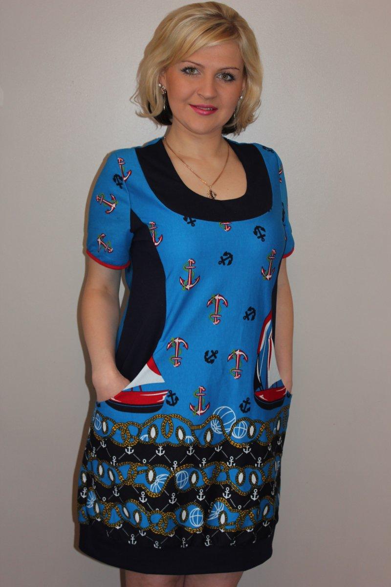Туника женская ЯкорьТуники, рубашки и блузы<br><br><br>Размер: 50