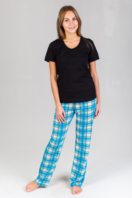 Брюки домашние женские ПеппиДомашняя одежда<br><br><br>Размер: 50