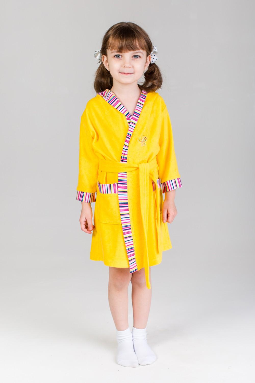 Халат подростковый Ассоль для девочкиХалаты и пижамы<br><br><br>Размер: 36 (рост 134 см)