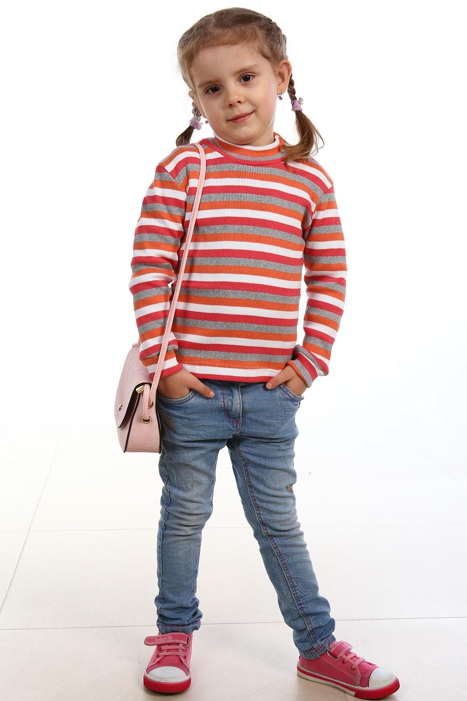 Водолазка для девочки КарусельСвитеры, водолазки, джемперы<br><br><br>Размер: 34 (рост 128 см)