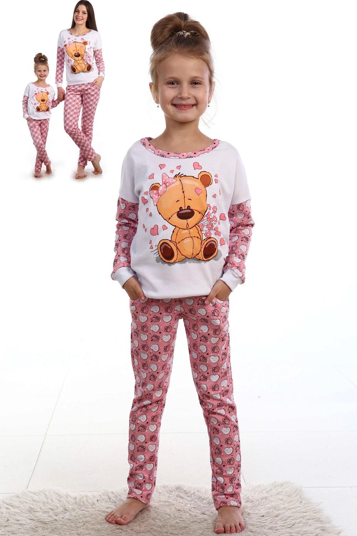 Костюм детский домашний Топтыжка для девочкиКоллекция ОСЕНЬ-ЗИМА<br><br><br>Размер: 38