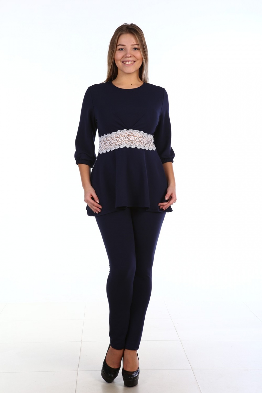 Костюм женский «Маргарита» блуза и брюкиКостюмы<br><br><br>Размер: 48