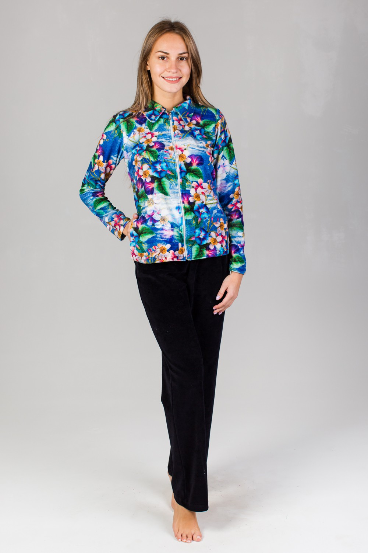 Костюм женский Влада блуза и брюкиКоллекция ОСЕНЬ-ЗИМА<br><br><br>Размер: 44