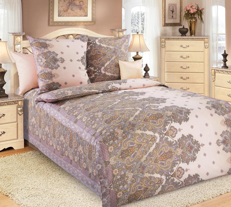 Комплект постельного белья Изабель 2 из бязиБязь<br><br><br>Размер: 1.5сп (2 нав.70х70)