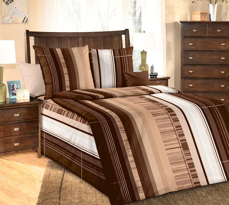 Комплект постельного белья Маредо 1 из бязиБязь<br><br><br>Размер: 1.5сп (2 нав.70х70)