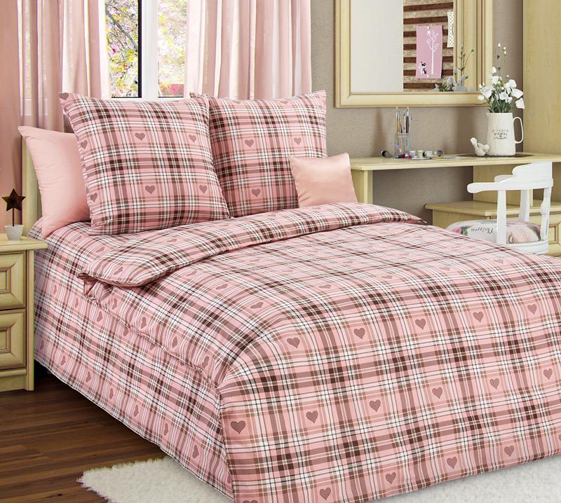 Комплект постельного белья Симпатия 1 из бязиДетское постельное белье<br><br><br>Размер: 1.5сп (2 нав.70х70)