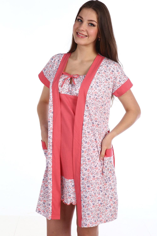 Пеньюар женский ОвацияДомашняя одежда<br><br><br>Размер: 52
