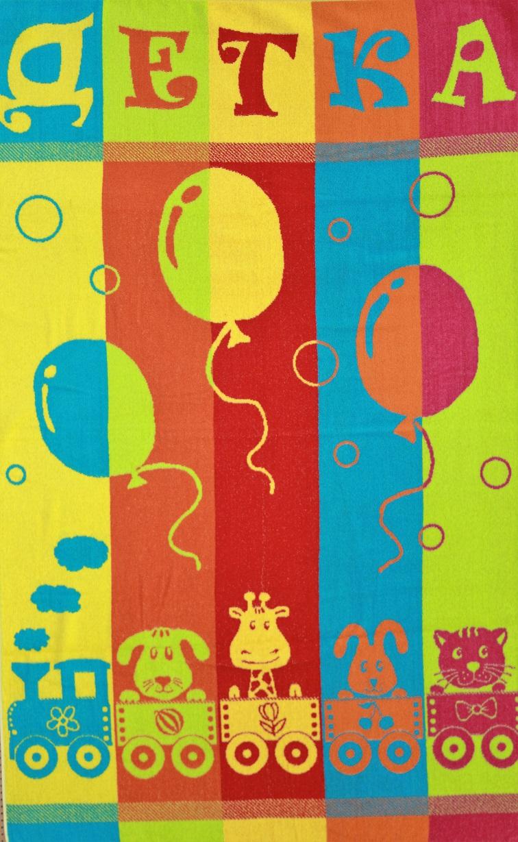 Полотенце махровое жаккардовое Детка банноеДетские изделия<br><br><br>Размер: Детка